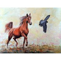 Конь и птица