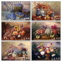 Фруктовые и цветочные натюрморты