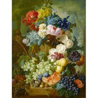 Фруктово-цветочная композиция