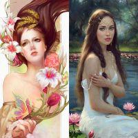 Прекрасные женские образы