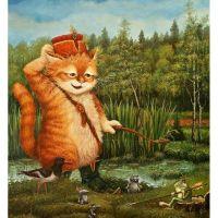Приключения рыжего кота
