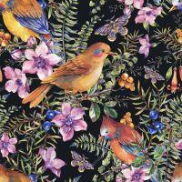 Цветы и птицы в композициях 2