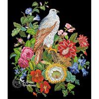 Композиции с цветами и птицами