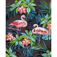 Композиции с цветами и птицами 4