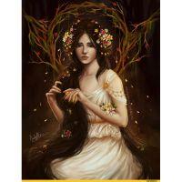 Черноволосая фея