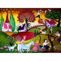 Волшебные миры от художника Ласло Кодай