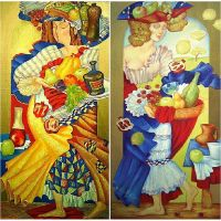 Иллюстрации  Ольги Налетовой. В ассортименте.