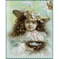 «Винтажные рисунки с детками» Виктории Joy