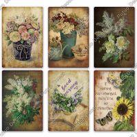 Цветы винтажные