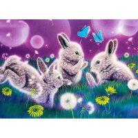 Зайчата в одуванчиках