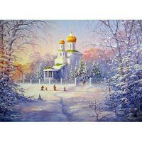 Рождественское утро. Гикал Алексей Григорьевич.