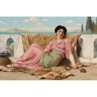 Древнегреческая красавица. Джон Уильям Годвард