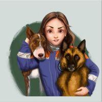Пацанка с собаками