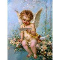 Эрот - сын Афродиты, божественный мальчик с колчаном и луком.