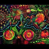 Психоделическое полотно