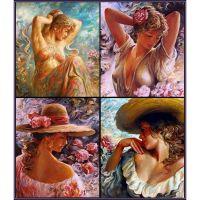 Цветочные женщины. Острицкий