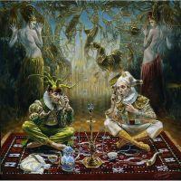 Абсурдная картина  художника-сюрреалиста Михаила Хохлачева.