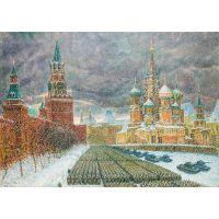 Парад на Красной площади 7 ноября 1941-го года