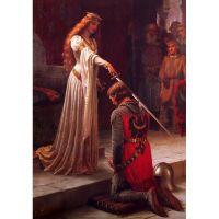 Эдмунд Лейтон, Посвящение в рыцари