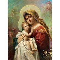 Мария с младенцем.Коллекция работ Ханса Зацка