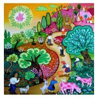 Сельская жизнь в рисунках Laszlo Koday