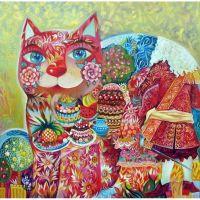 Сказочные коты  Оксаны Заики