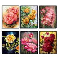 Роскошные цветы в ассортименте