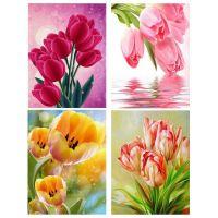 Нежные тюльпаны в ассортименте