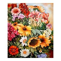 Букет цветов импровизация