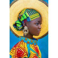 Африканочка в панаме