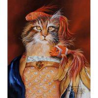 Сказочные коты в ассортименте