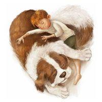 Мальчик и собака. Марсель Варльер