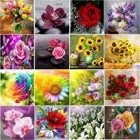 Композиции из цветов в ассортименте