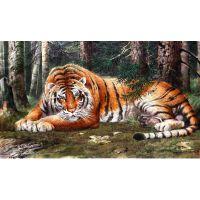 Тигр от корейского художника