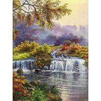 Весенний водопадик