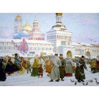 К преподобному Сергию.Сергей Ерошкин