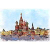 Храм Василия Блаженного и площадь