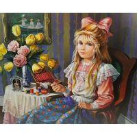 Детские портреты художницы Pati Bannister