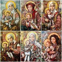 Святые образы в работах Александра Ахабкина