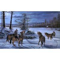 Стая воющих волков
