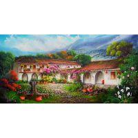 Дом в цветущем саду