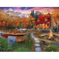 Уютный домик у озера