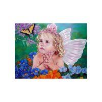 Бабочка и ангелочек