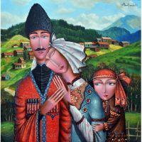 Грузинская семья. Zurab Martiashvili