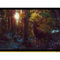 В зачарованном лесу