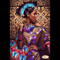 Африканочка с сумкой