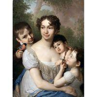 Владимир Боровиковский (1757–1825) Е.П.Балашова с Детьми