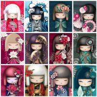 Японские куклы в ассортименте