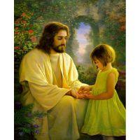 Христос и девочка