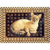 Ковровые коты художницы Lesley Anne Ivory